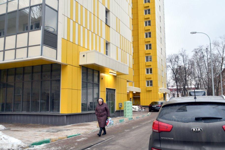 В районе Котловка началось заселение двух домов по программе реновации