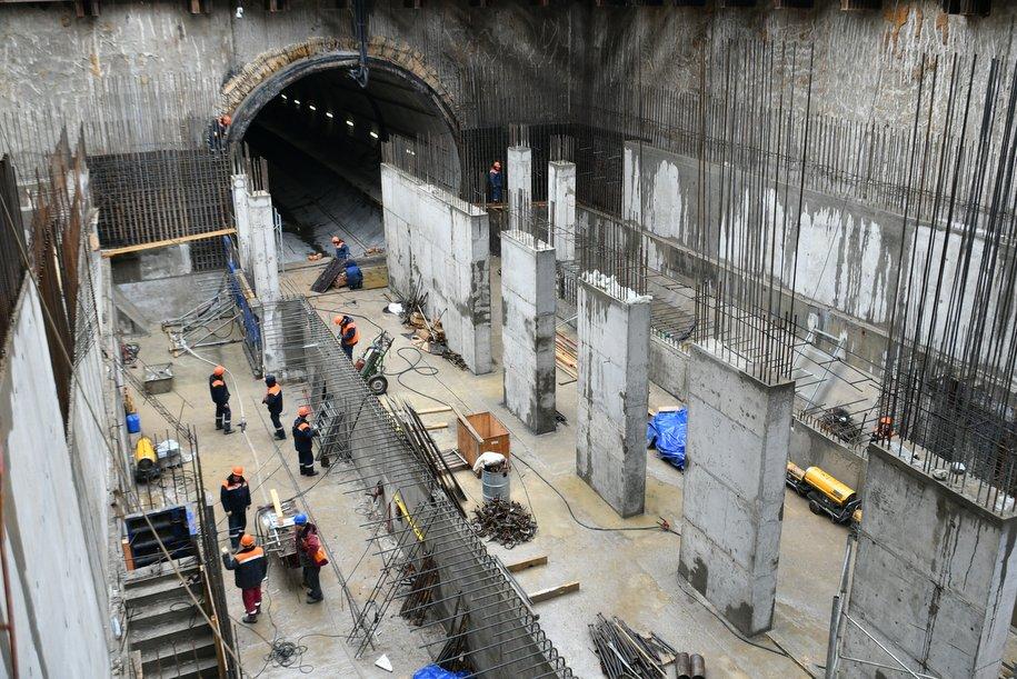 Вестибюль станции «Мичуринский проспект» соединит две линии метро