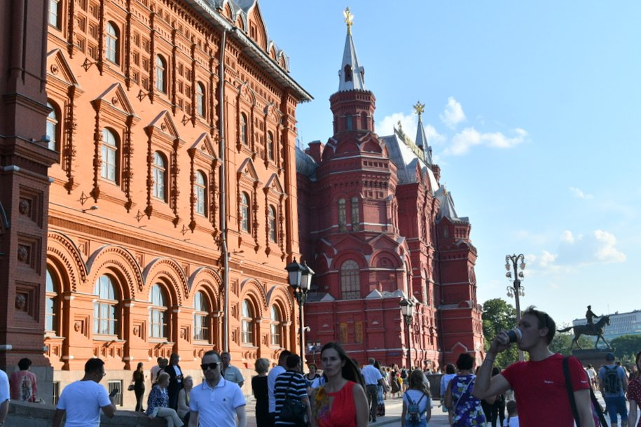 Мэр Москвы  рассказал о сохранении культурного наследия столицы