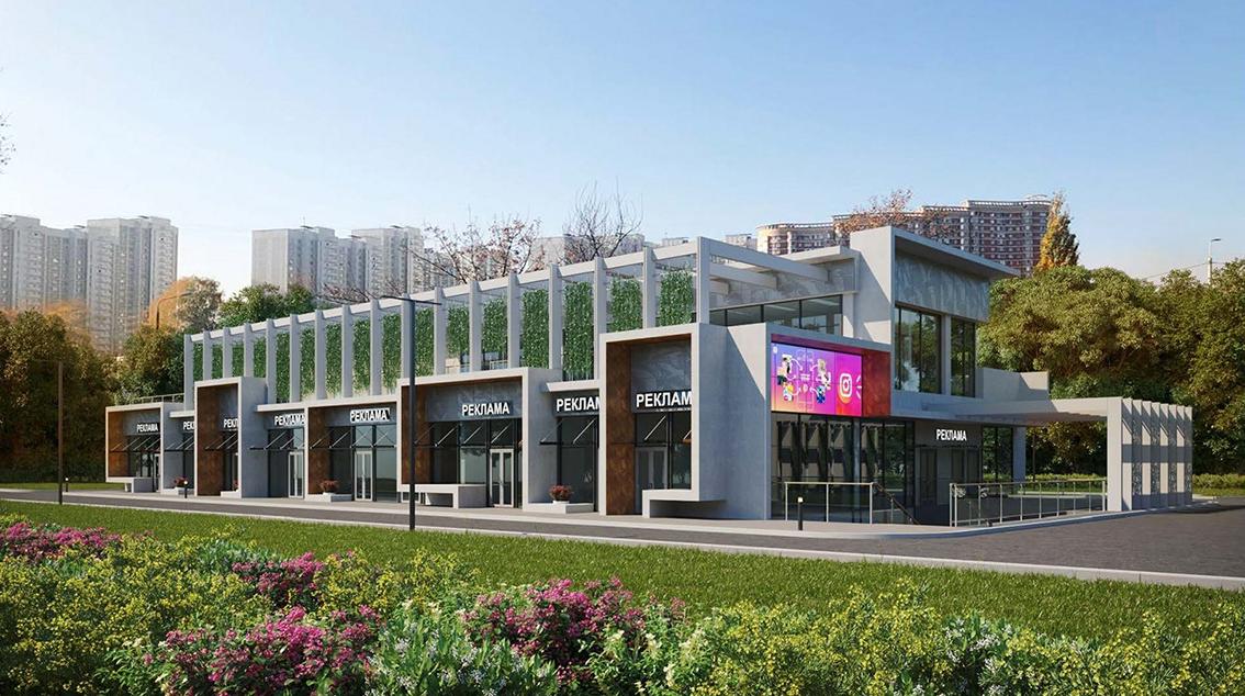 Кафе с висячими садами появится в столичном районе Солнцево