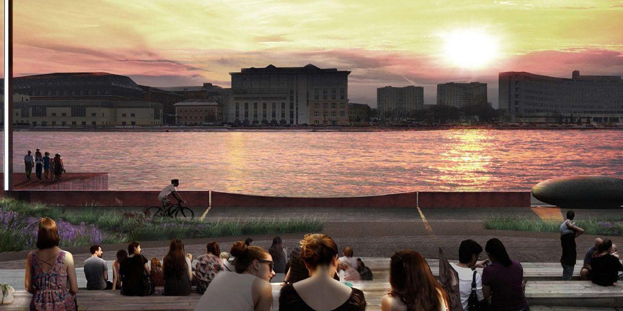 На набережной Марка Шагала появятся искусственные холмы