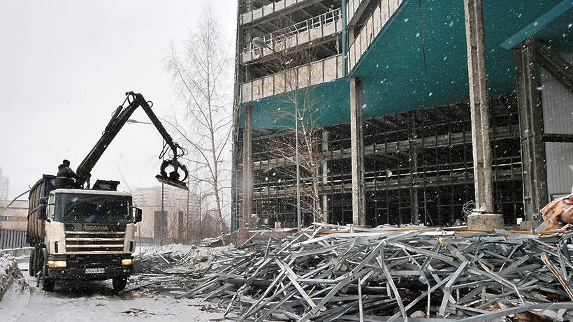 Стартовала реконструкция комплекса «Зенит»