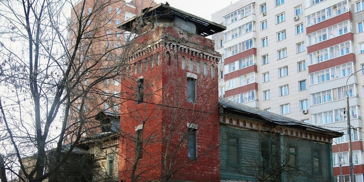 Пожарную часть ХХ века отреставрируют