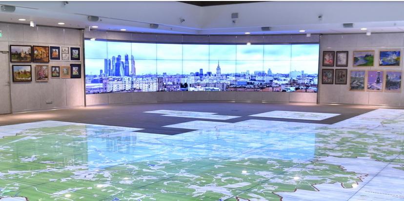 Интерактивная карта покажет стройки Москвы