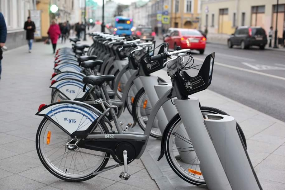Сезон велопроката в Москве стартует в апреле
