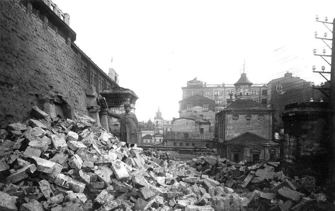 Китайгородская стена: от возрождения к забвению