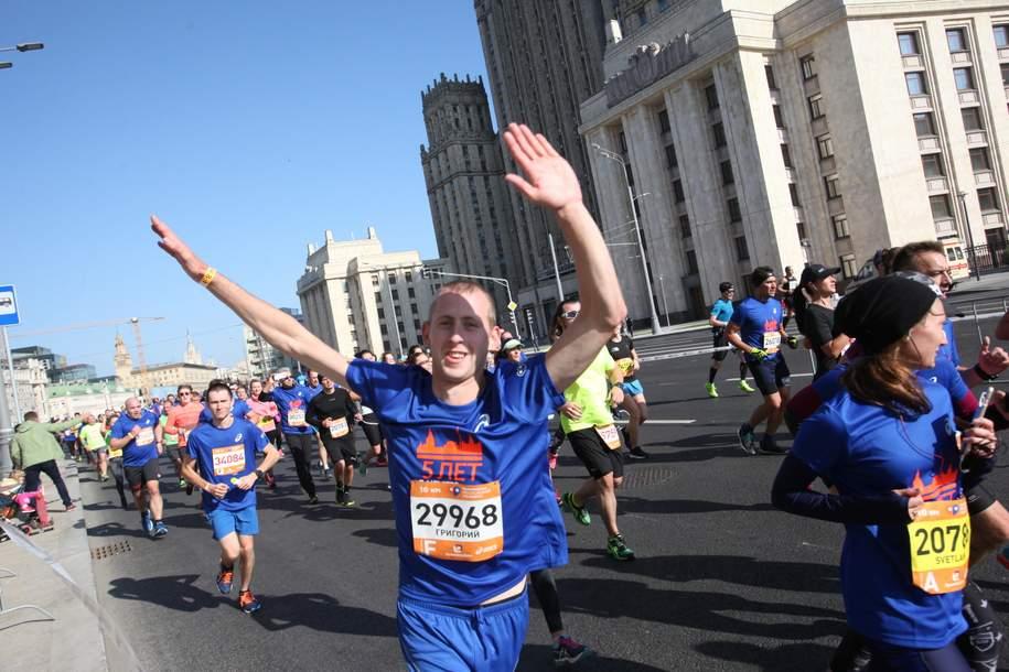 Ежегодный беговой сезон откроется в Москве 7 апреля