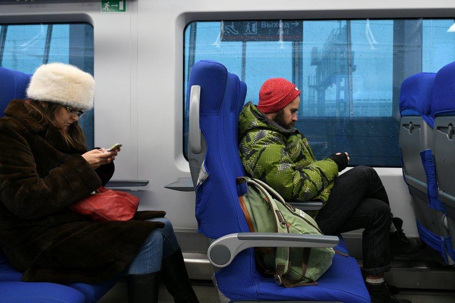 Более 30 млн подключений к Wi-Fi совершили пассажиры МЦК конца 2016 года