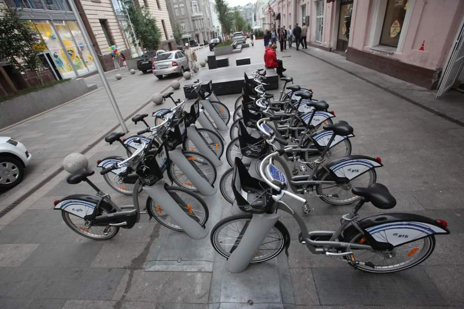 """Городской велопрокат """"придёт"""" в новые районы — Собянин"""
