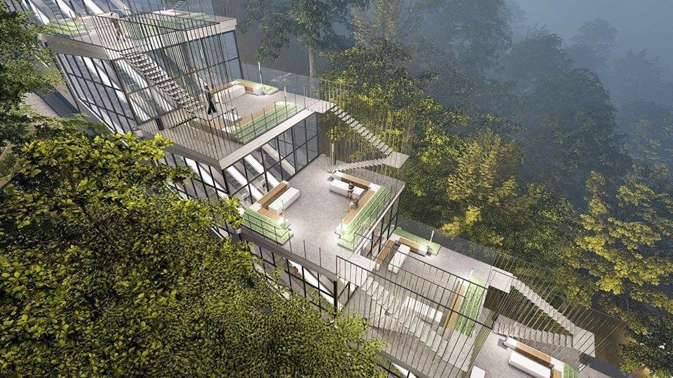 Эскалаторную галерею на Воробьёвых горах реконструируют к 2022 году