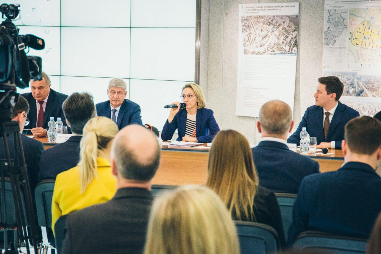 Публичные слушания по программе реновации прошли в шести районах