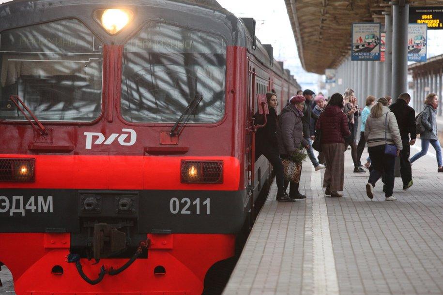 Поезда на Савёловском направлении МЖД следуют по графику
