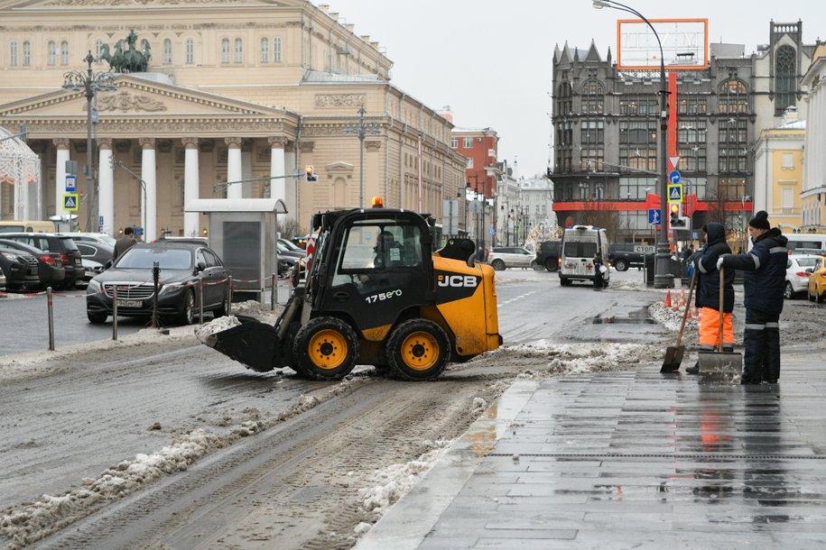 В воскресенье в Москве может образоваться временный снежный покров — Фобос