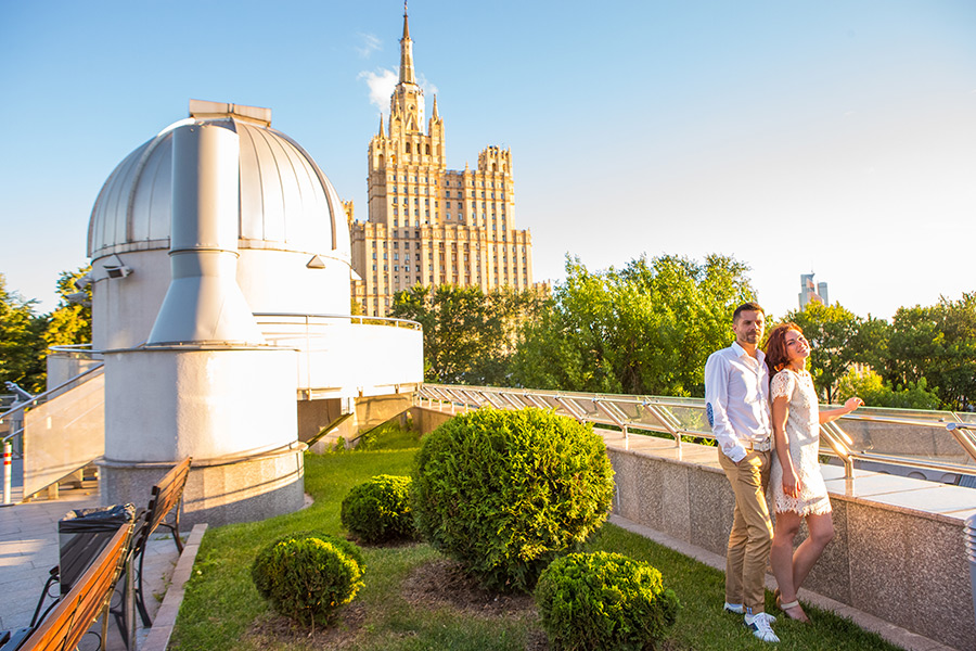 Сезон романтики в Московском планетарии откроется в мае