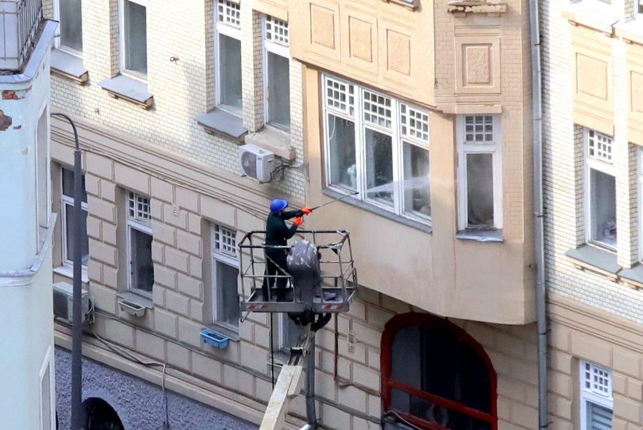 В Москве продолжается генеральная уборка — Собянин