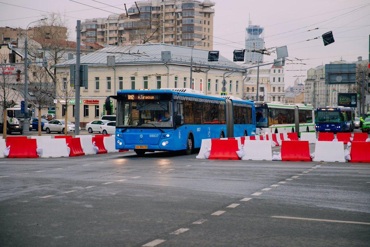 Автобусами КМ на юго-востоке столицы воспользовались более 720 тысяч человек
