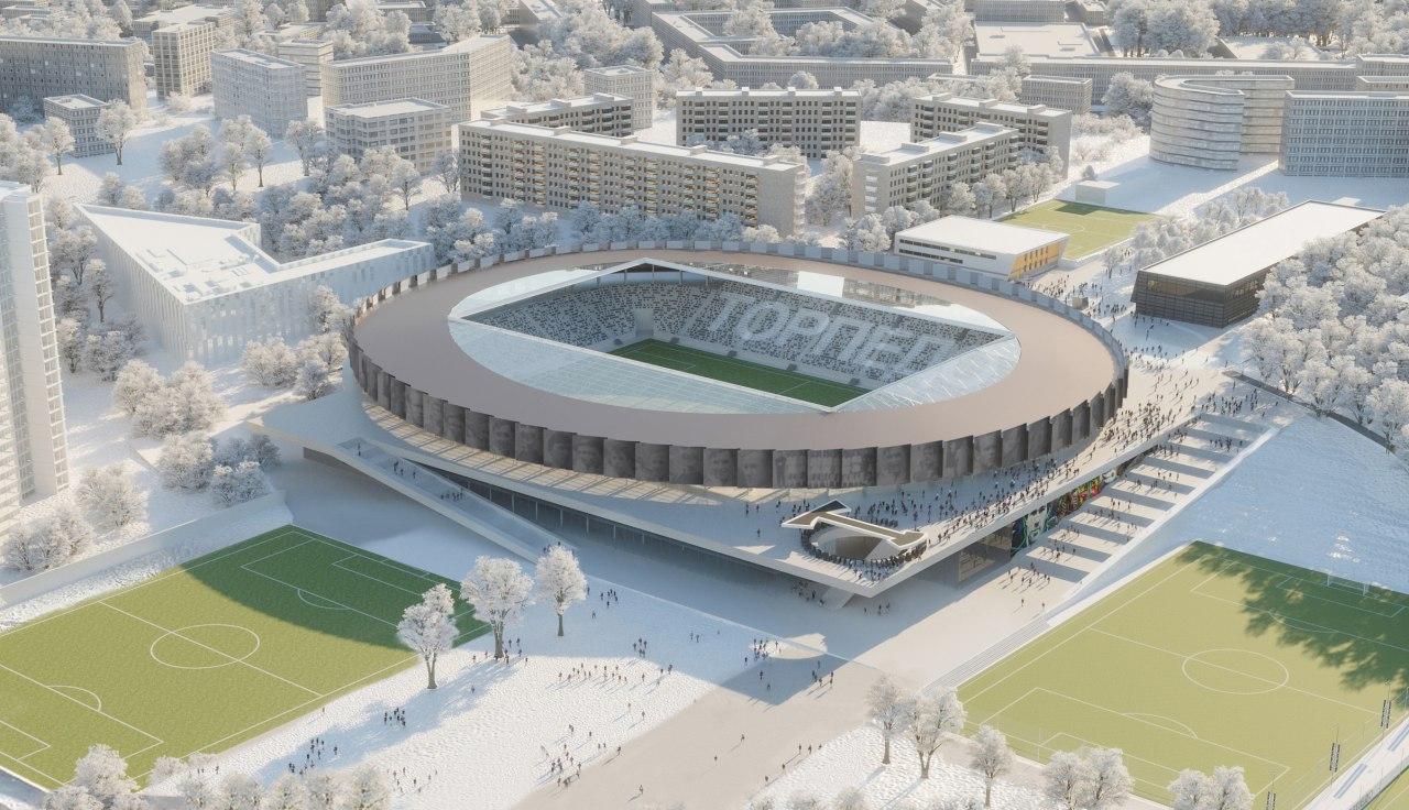 В  Москве реконструируют стадион «Торпедо» на Автозаводской улице