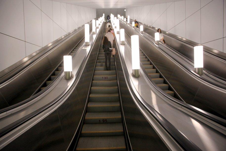 На станции «Авиамоторная» БКЛ началось строительство тоннеля для эскалаторов