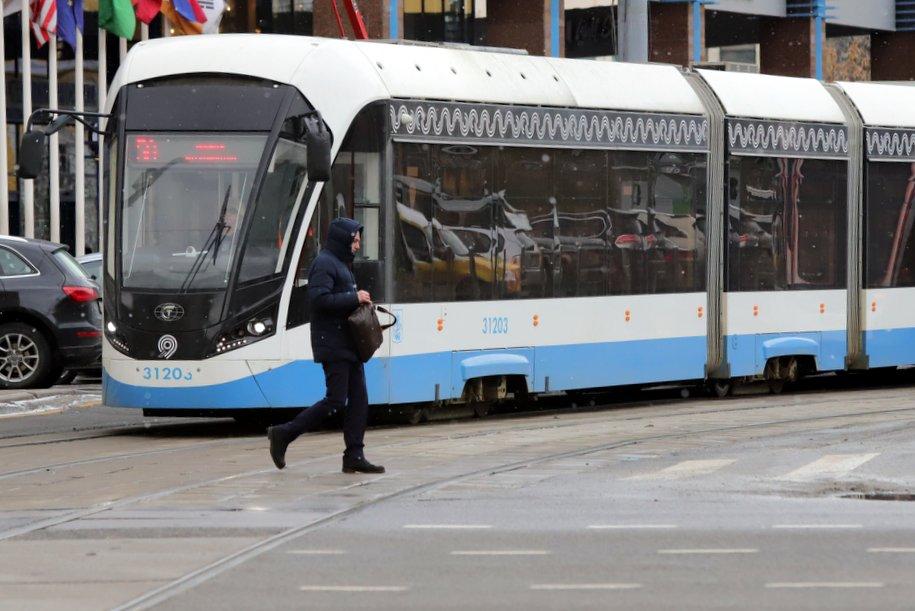 В столице изменилась схема движения двух трамвайных маршрутов