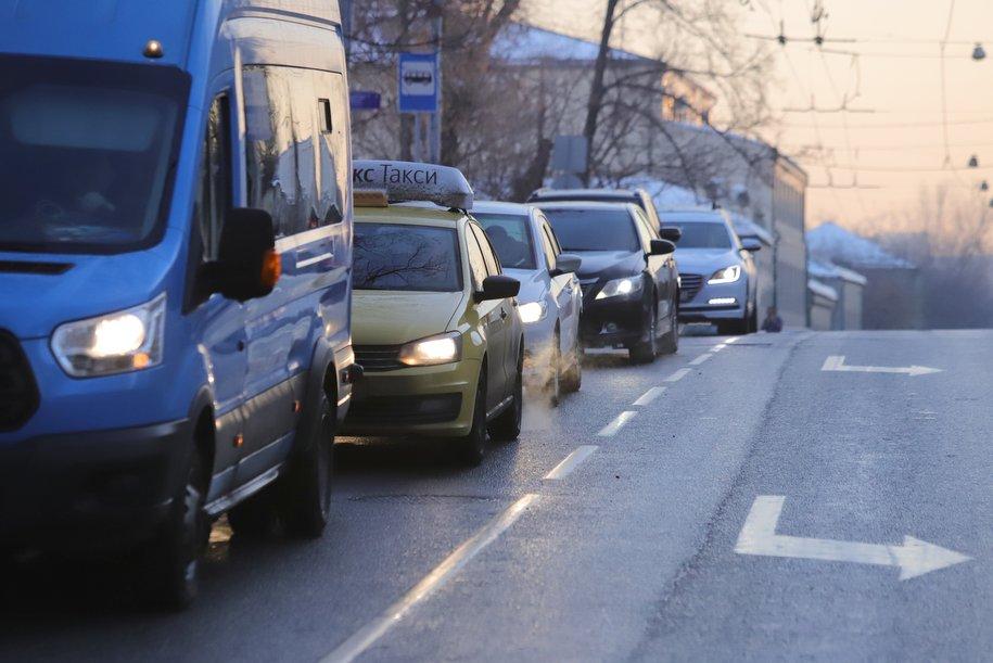 Некоторые выделенные полосы в Москве полностью отдали общественному транспорту
