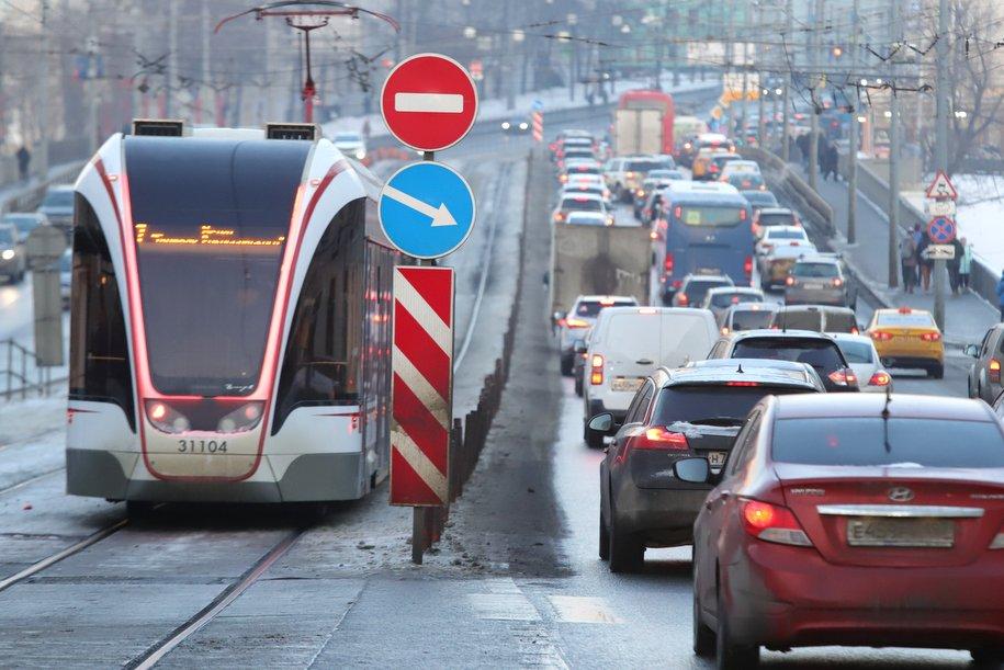 Движение на юго-востоке Москвы ограничат 6-11 апреля из-за строительства Некрасовской линии метро