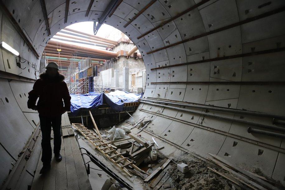 Коммунарскую линию метро начнут строить в этом году