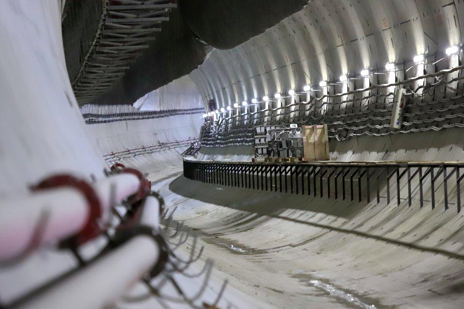 Строительство перегонного тоннеля между станциями «Текстильщики» и «Нижегородская» БКЛ метро завершено