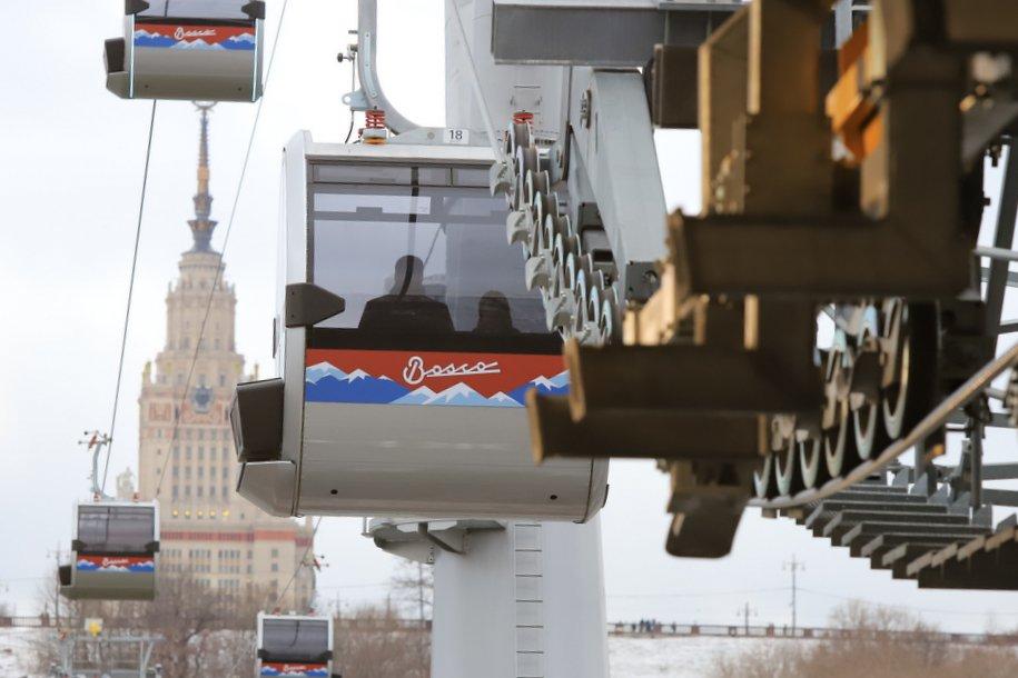 Московская канатная дорога вводит новые тарифы с 27 апреля