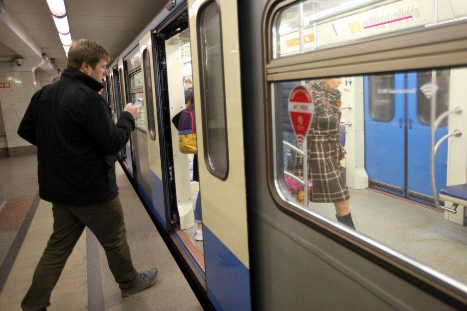 Интервалы движения поездов на Сокольнической линии увеличены из-за инцидента с пассажиром