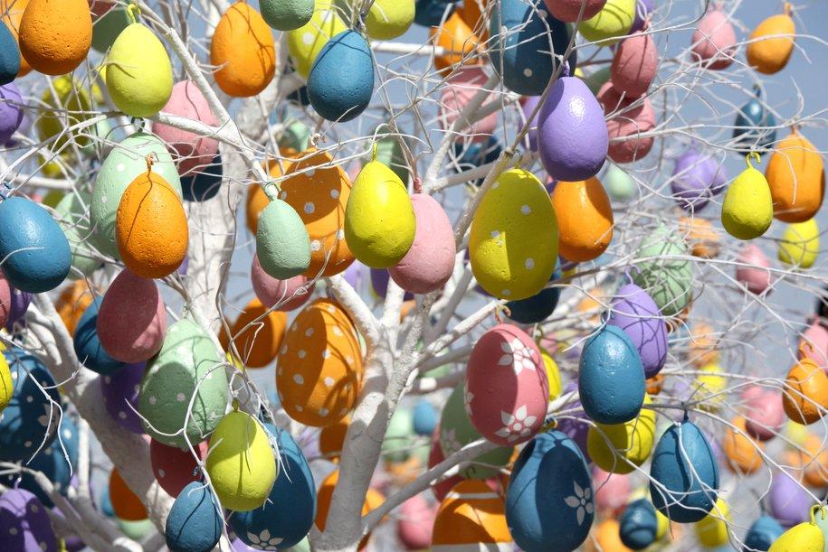 К фестивалю «Пасхальный дар» Москву украсят световыми декорациями
