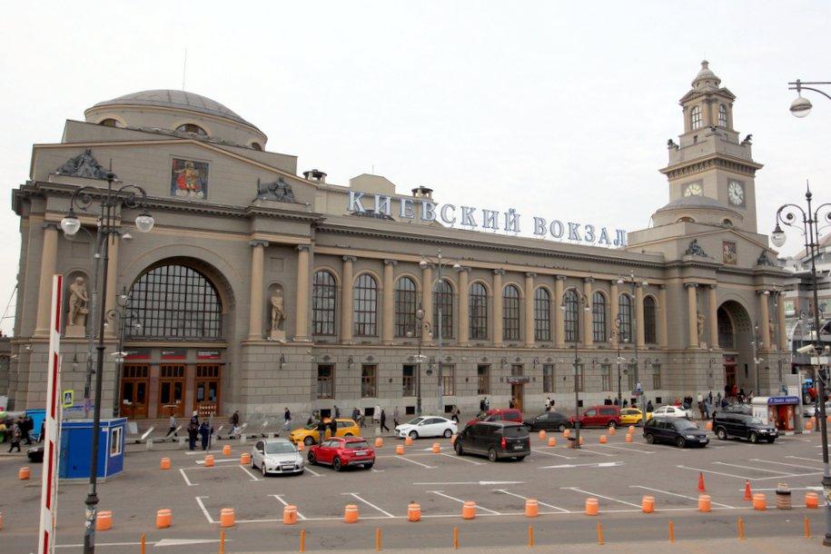 Стартовали работы по благоустройству территории у Киевского вокзала
