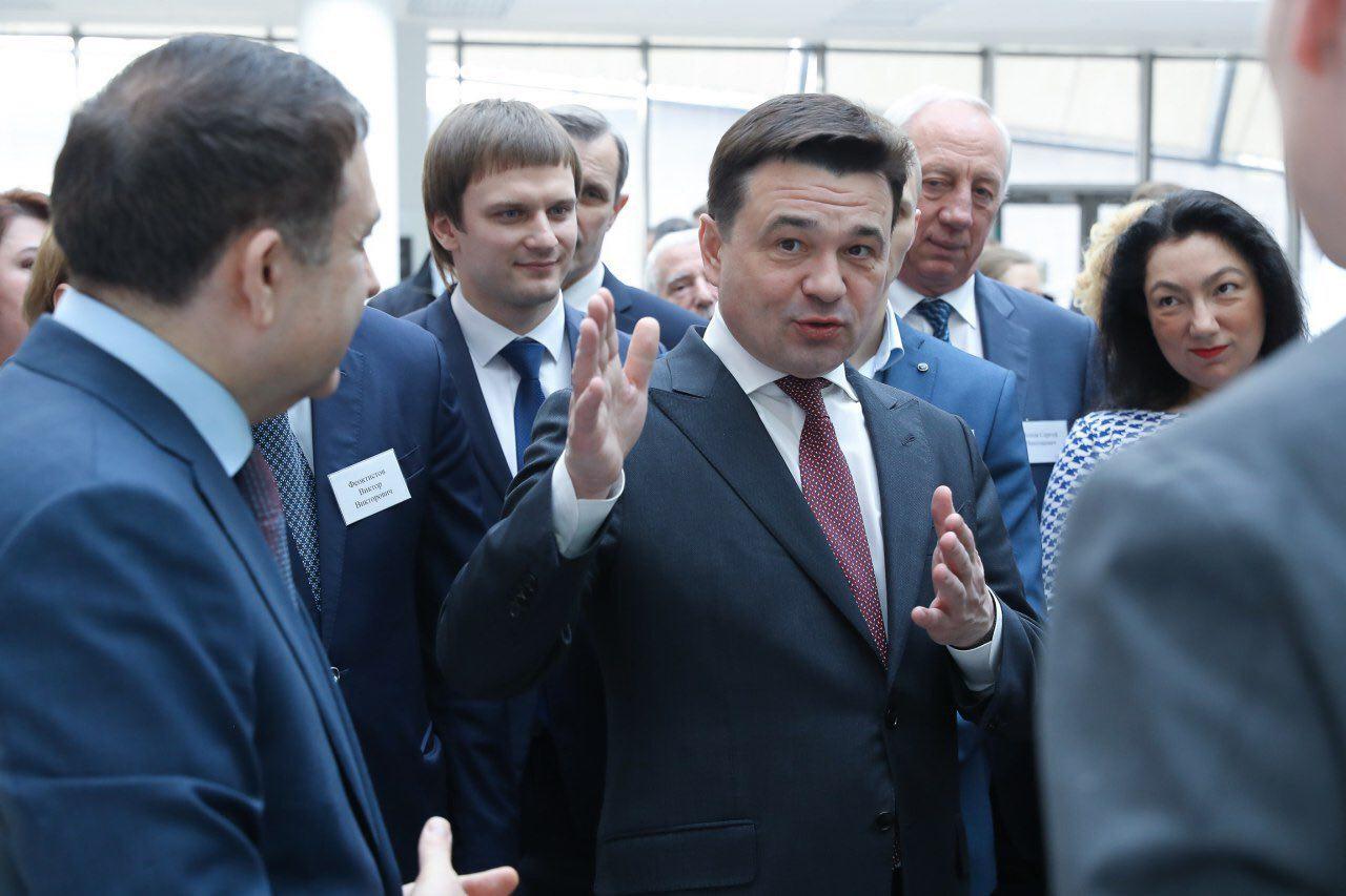Сергей Собянин поздравил губернатора Московской области с Днём рождения