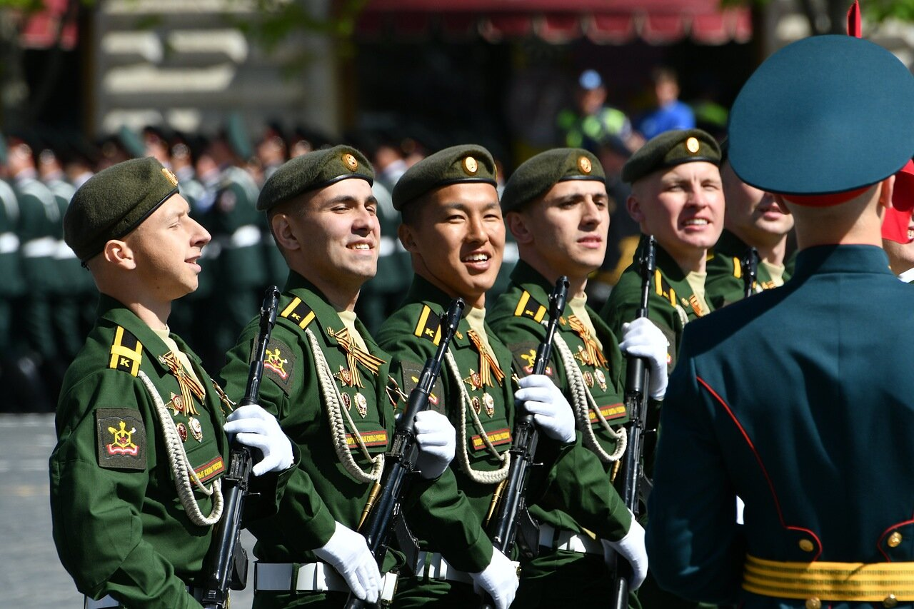 Репетиции Парада Победы в Москве пройдут 27 апреля, 4 и 7 мая