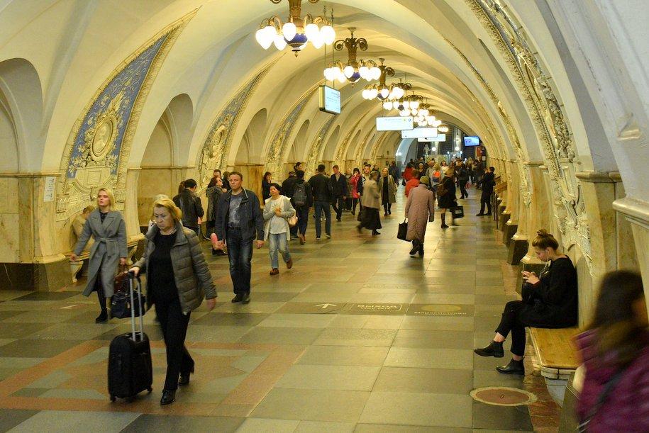 Полиция назвала самые криминальные станции московского метро в 2018 году