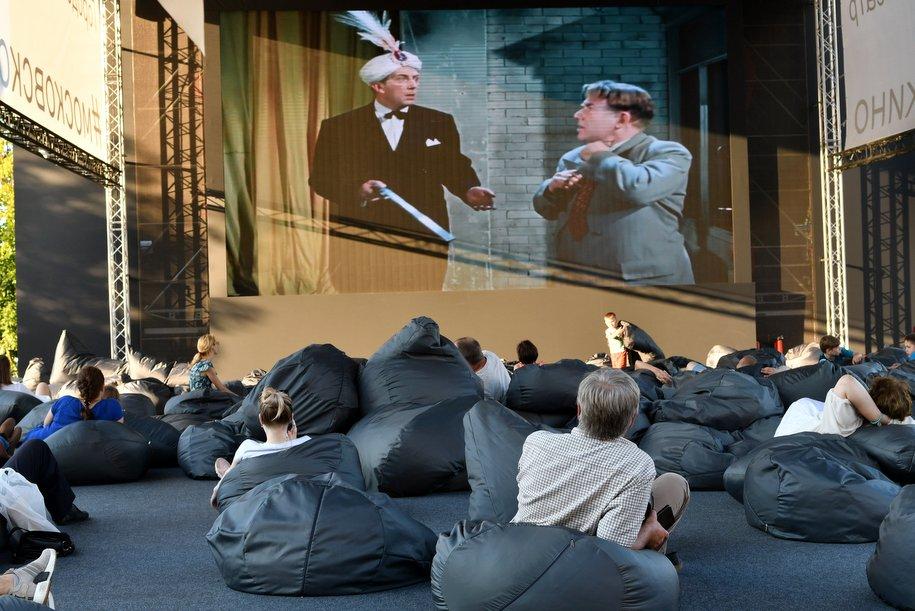 Летний кинотеатр «Пионер» откроется в парке искусств «Музеон» 1 мая