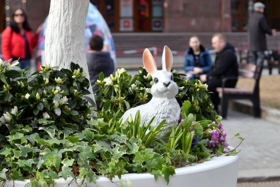 Более 40 тыс. цветущих растений украсят площадки фестиваля «Пасхальный дар» в Москве