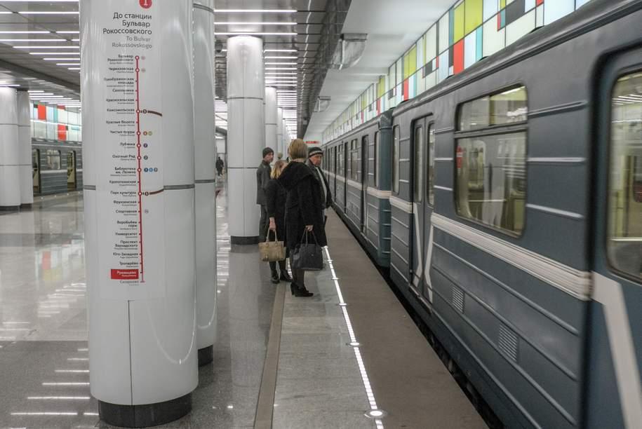 Движение на Сокольнической линии введено в график