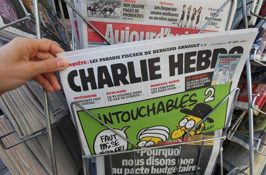 Французский еженедельник «Шарли Эбдо» высмеял горящий Нотр-Дам