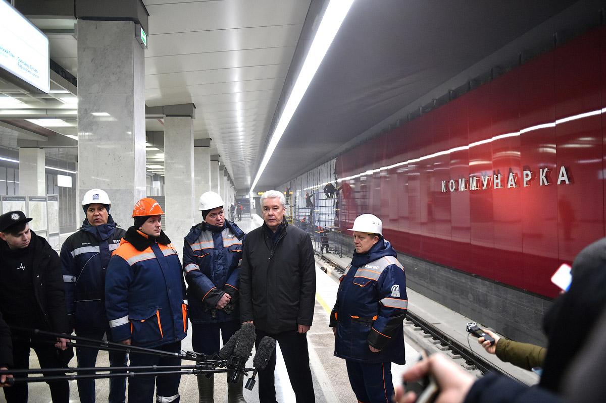 Сергей Собянин утвердил названия новых станций метро