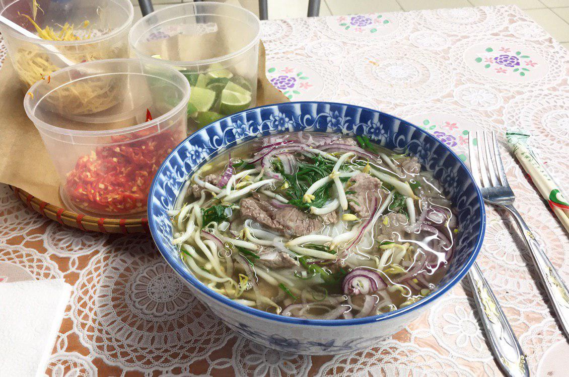 Одним из любимых супов москвичей оказался вьетнамский Фо Бо