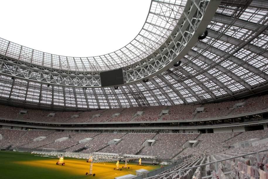 Билет на экскурсию по крыше стадиона «Лужники» будет стоить 1100 руб
