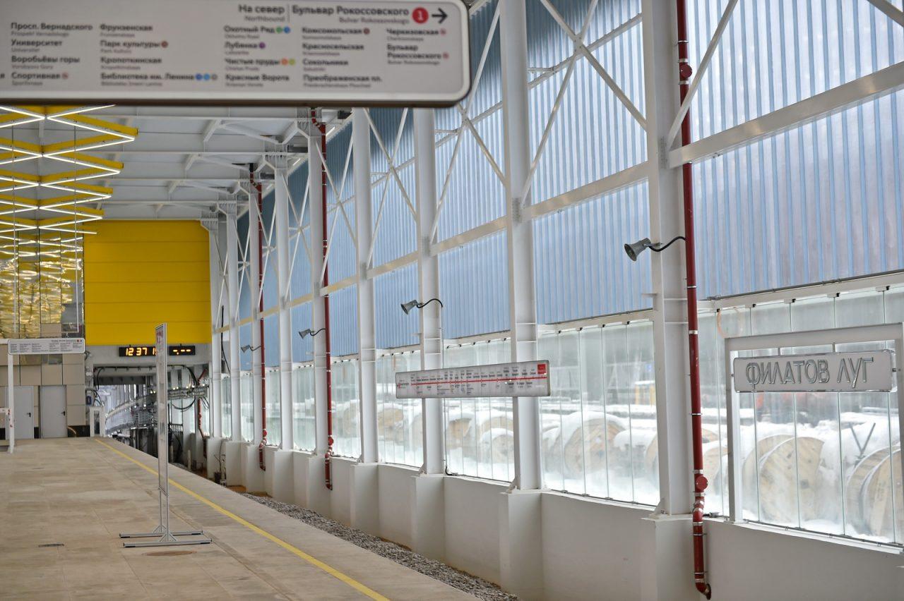 Четыре станции метро будут открыты в ТиНАО этим летом