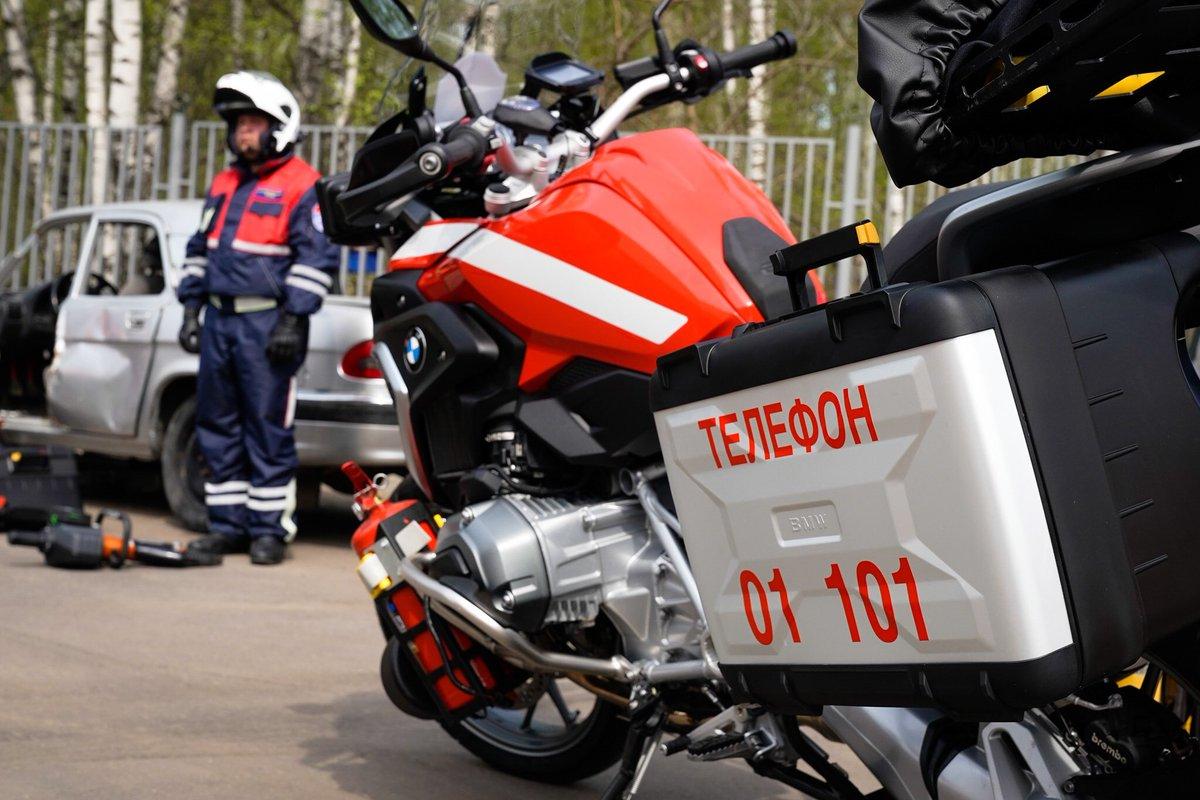 Группы быстрого реагирования на пожарно-спасательных мотоциклах появятся в столице