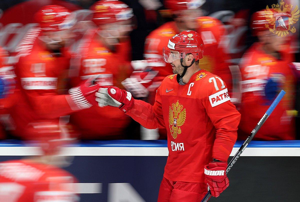 Сборная России обыграла латышей на Чемпионате мира по хоккею