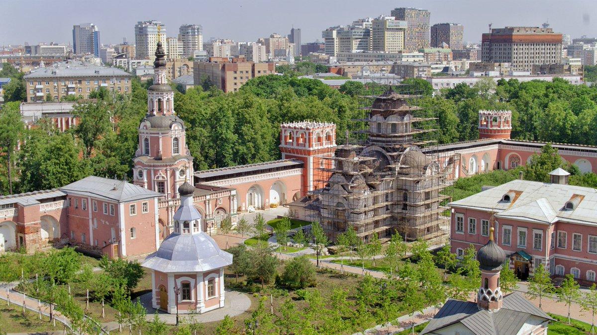 На территории Донского монастыря появится гостиница для паломников
