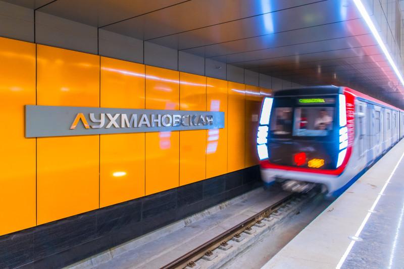 Пробный поезд запущен на пусковом участке Некрасовской линии метро