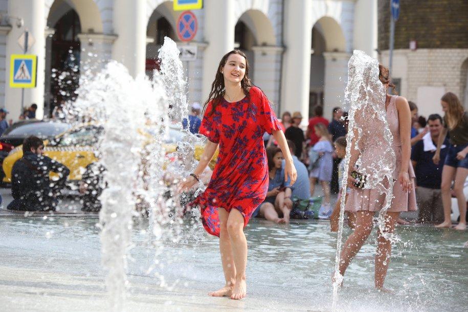 Среда, 29 мая, в Москве стала самым теплым днем с начала весны