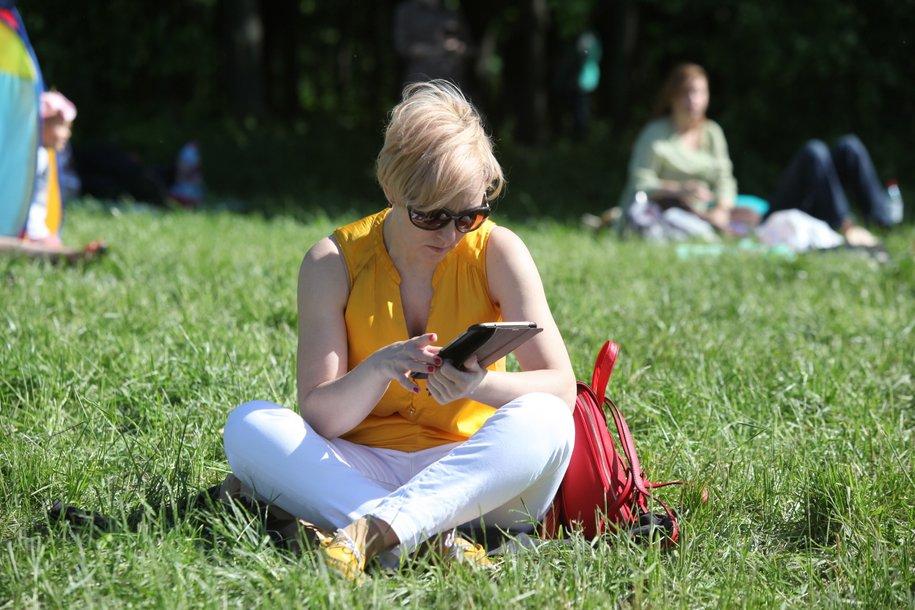 В начале лета в парках откроется 12 летних читален