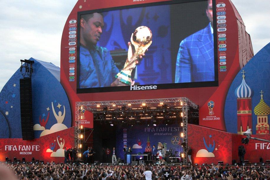 В честь ЧМ-2018 по футболу установят памятный знак