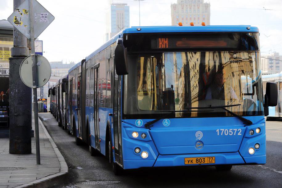 Более 90 тыс. человек воспользовались бесплатными автобусами на юго-востоке Москвы 25 мая